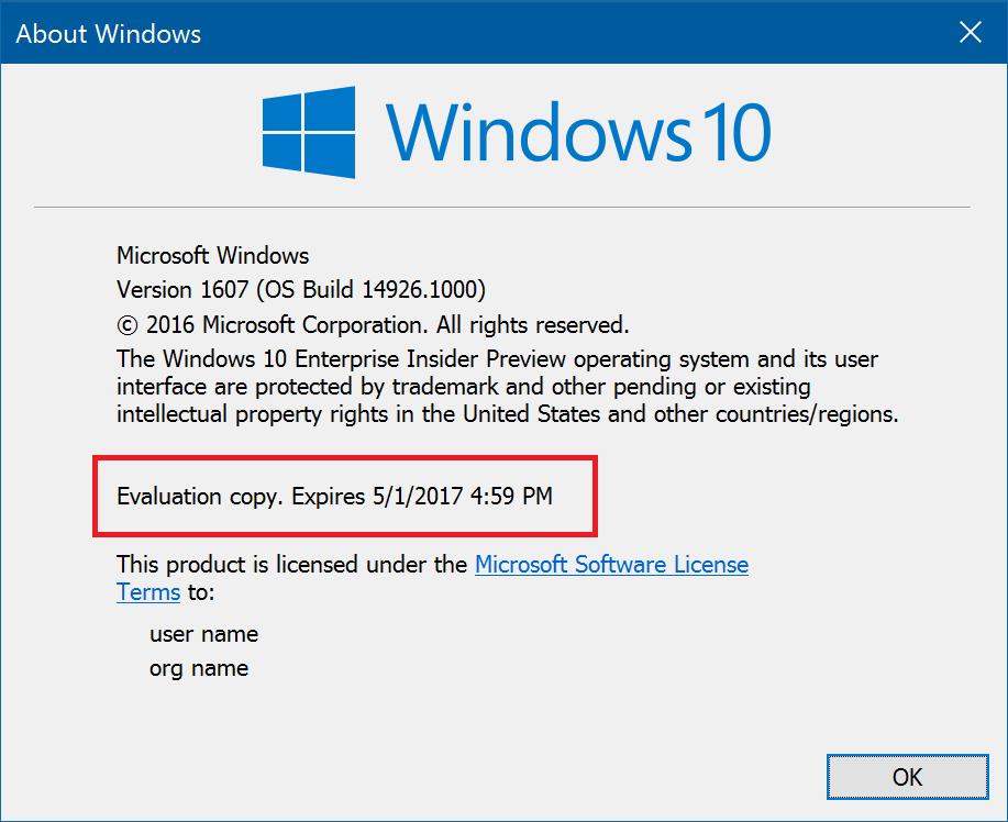 Windows 10 Insider Preview Build 14936 For Pc Amp Mobile